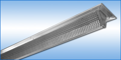 Anemostat: XS800 - Perforated Supply Linear Diffuser